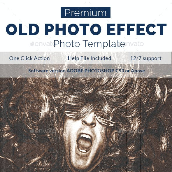 Realistic Old Photo Effect