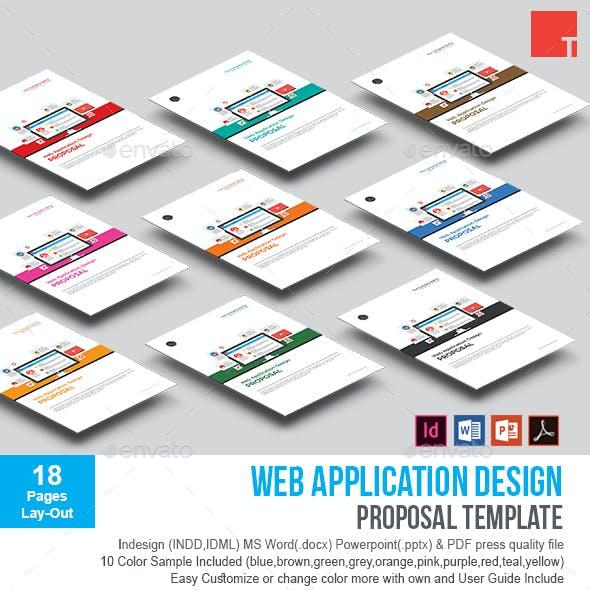 Web Application Design Proposal Template