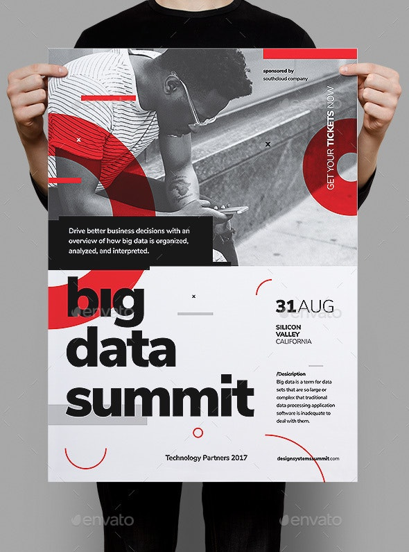 Big Data Conference Poster / Flyer - Corporate Flyers