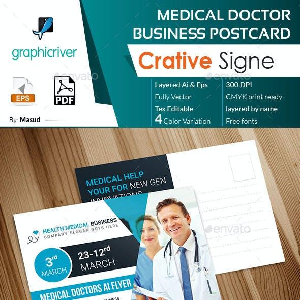 Medical Doctor Business Poscard