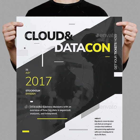 Datacon Corporate Poster Fyer