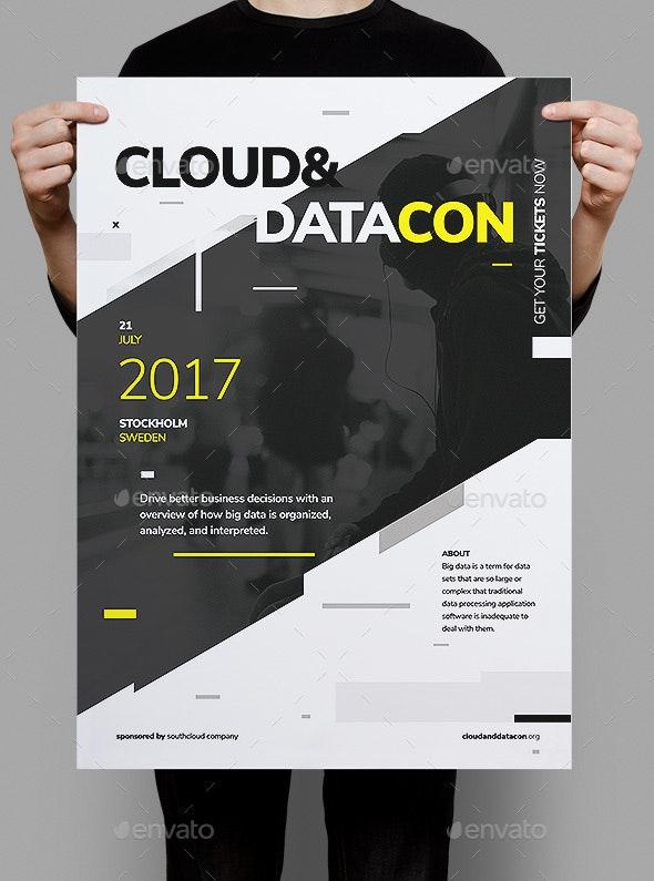 Datacon Corporate Poster Fyer - Corporate Flyers