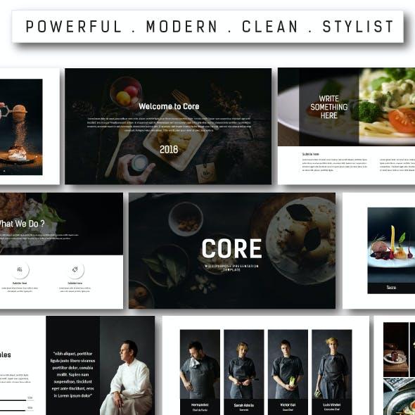 Core Multipurpose Keynote Template