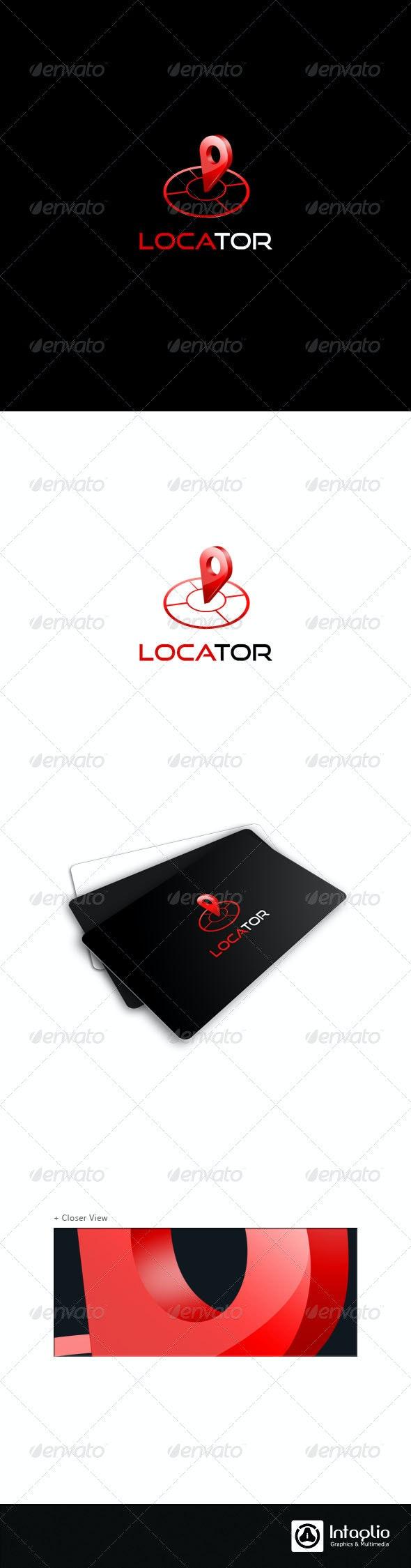 3D Navigation Logo Template - Locator - 3d Abstract