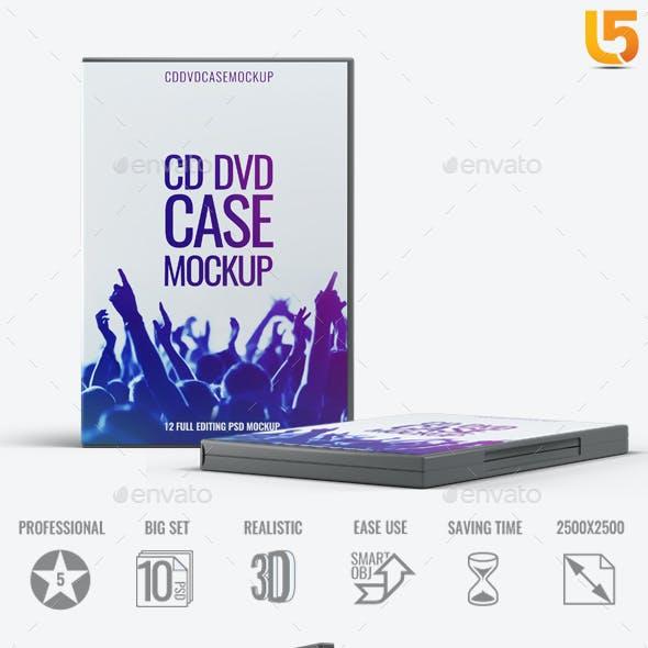 DVD CD Case Mock-Up