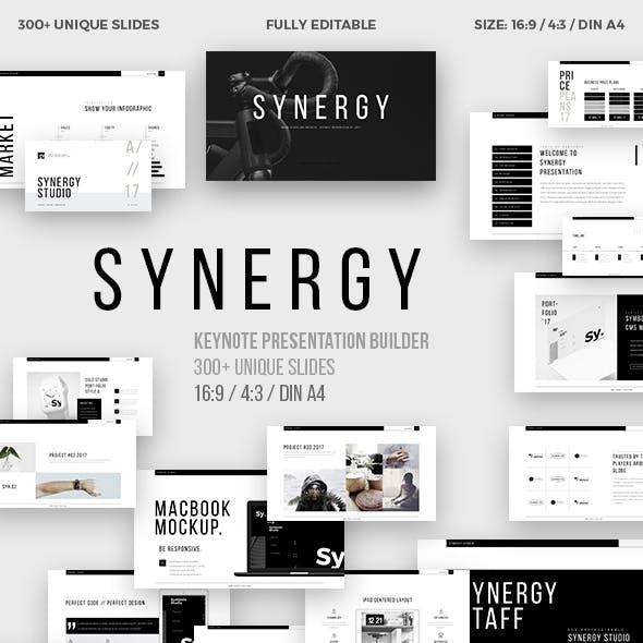 Synergy Minimal Keynote Template