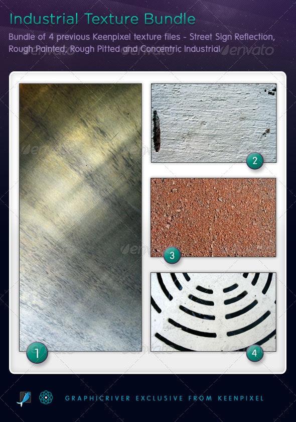 Industrial Texture Bundle - Industrial / Grunge Textures