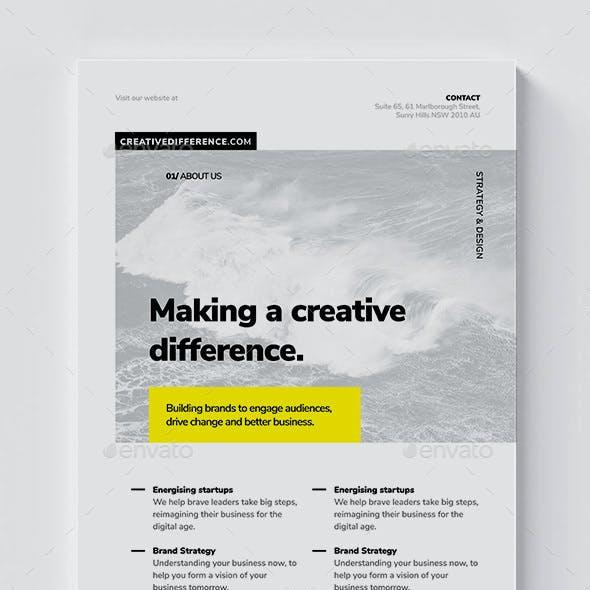 Corporate Flyer / Brochure Template