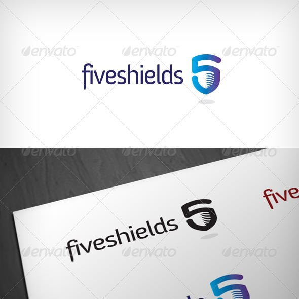 Five Shields Logo