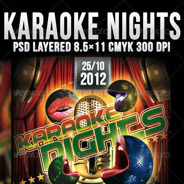 Karaoke Night Party