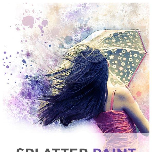 Splatter Paint | PS Action