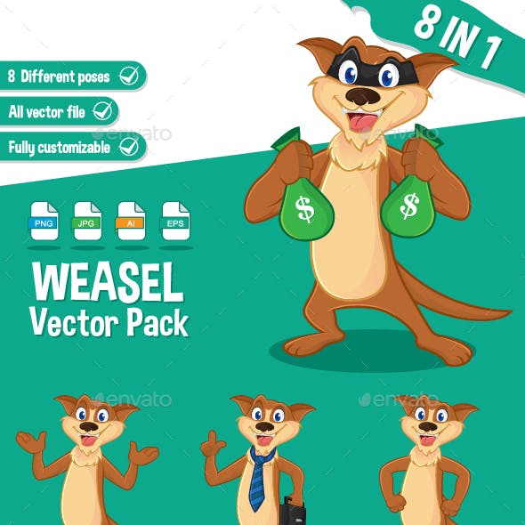 Weasel Vector Pack