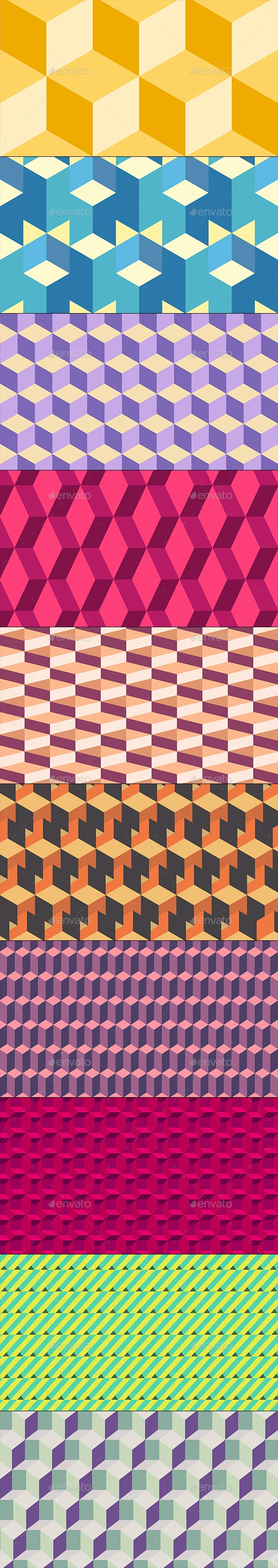 Isometric Background - Backgrounds Graphics