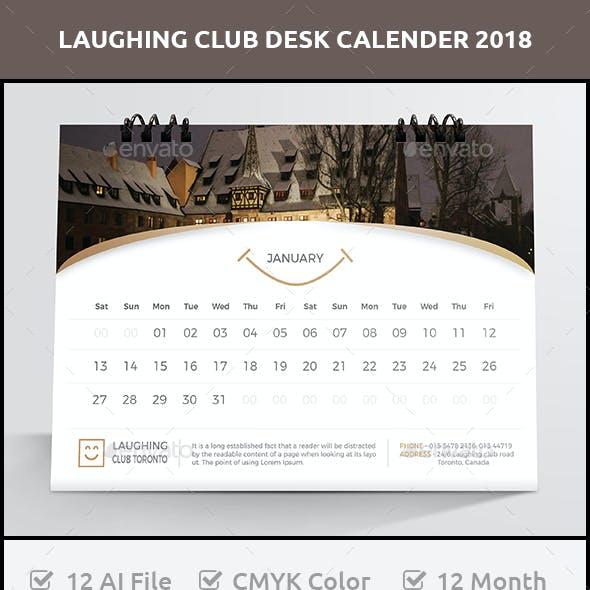 Laughing Club Desk Calender 2018