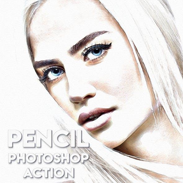 Pencil Photoshop Action