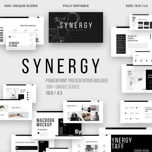 Synergy Minimal Powerpoint Template