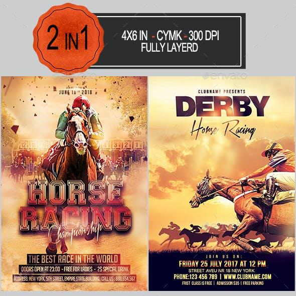 Horse Racing Flyer Bundle