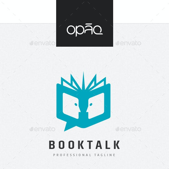 Book Blog Talk Logo