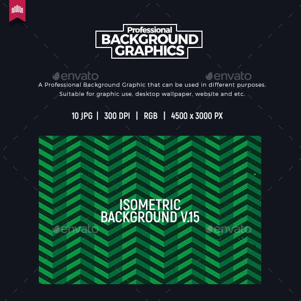 Isometric Background V.15