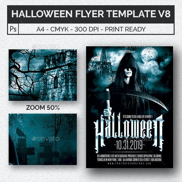 Halloween Flyer Template V8