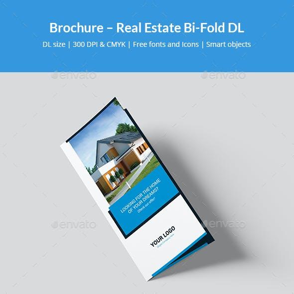Brochure – Real Estate Bi-Fold DL