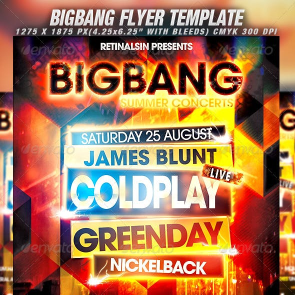 BigBang Flyer Template