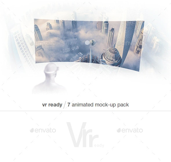 Animated VR Mock-up Pack - Miscellaneous Product Mock-Ups