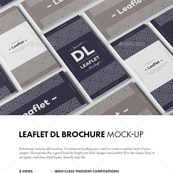 Leaflet DL Mock-up