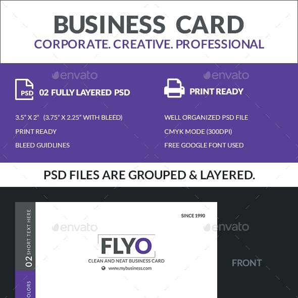 Flyo - Business Card