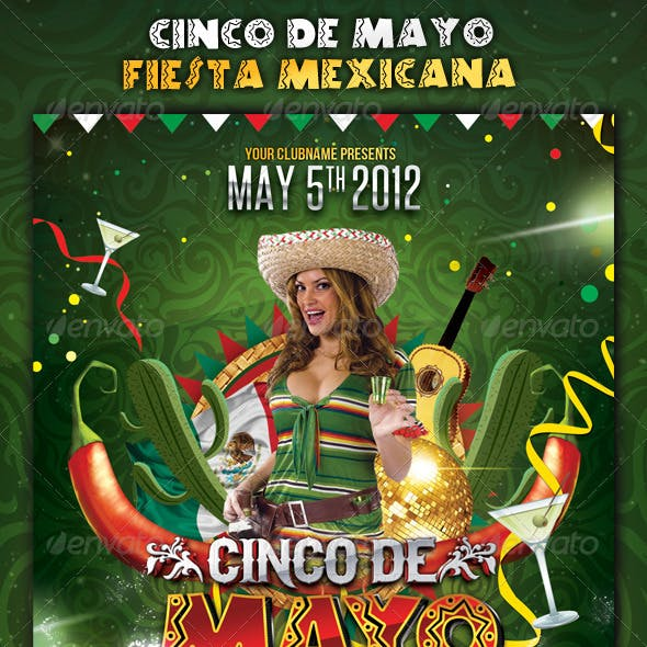 Cinco de Mayo Party - Flyer Template