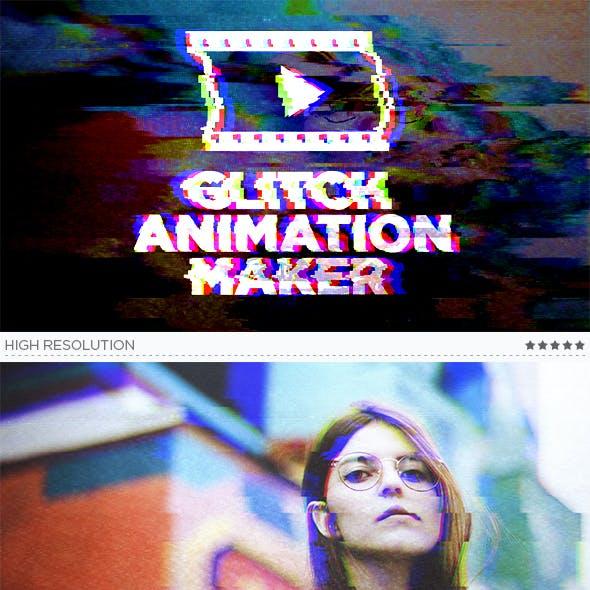 Glitch Animation Maker