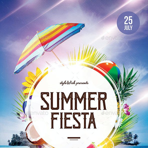 Summer Fiesta Flyer