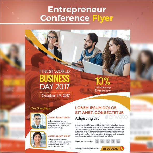 Entrepreneur Conference Flyer