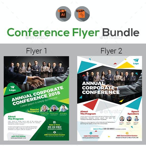 Annual Event Summit Flyer Bundle