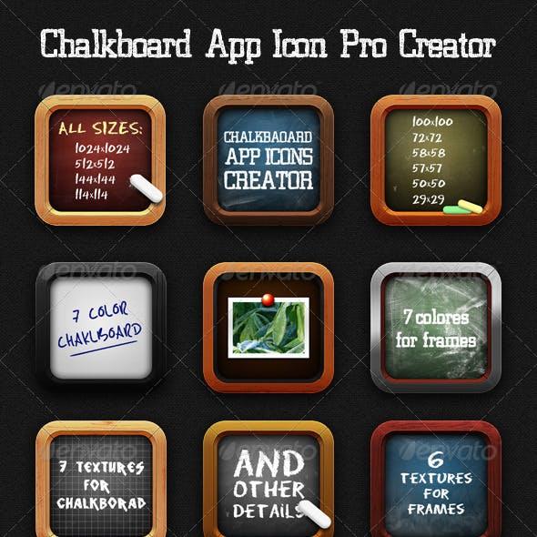 Chalkboard App Icon Pro Creator
