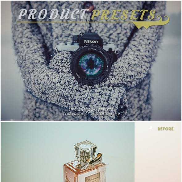 Product Presets Pack
