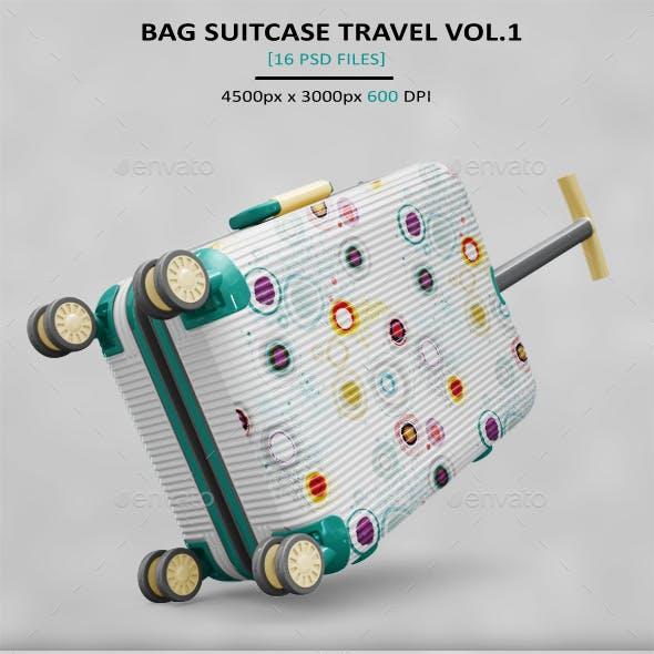 Bag Suitcase Travel MockUp
