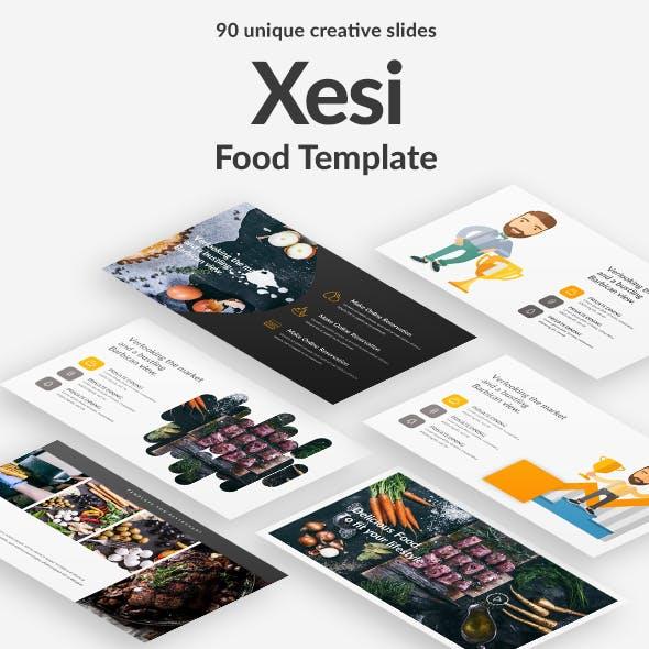 Xesi Food Keynote Template