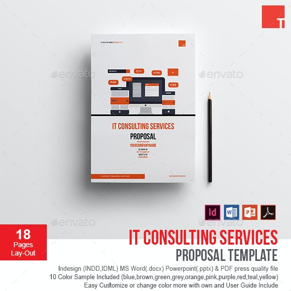 IT Consulting Services Proposal Template