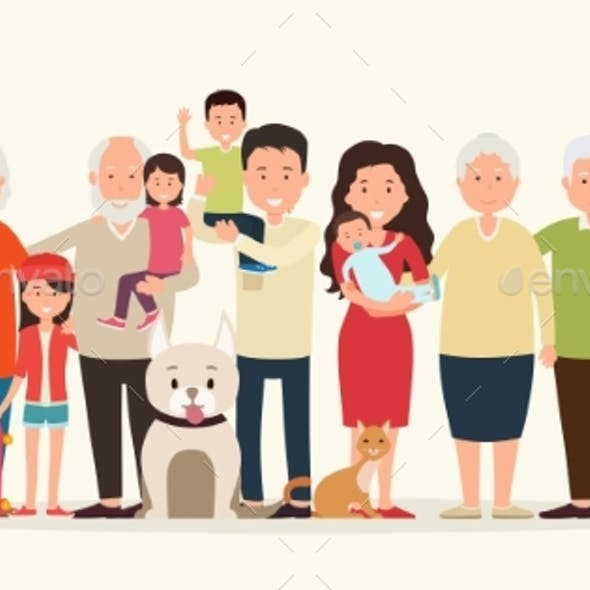 Big Family Together.