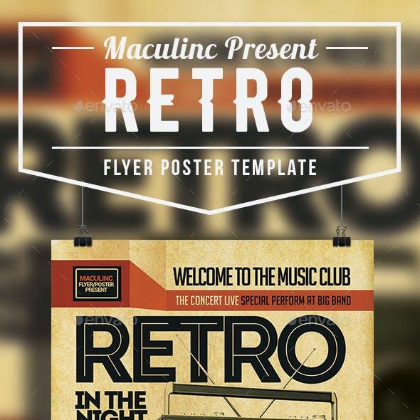 Retro Flyer/Poster