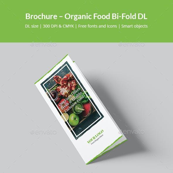 Brochure – Organic Food Bi-Fold DL