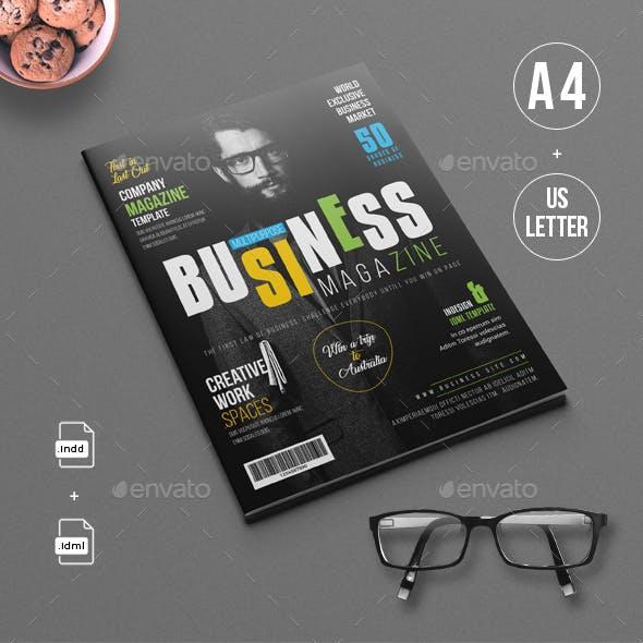 Business/Multipurpose Magazine Template