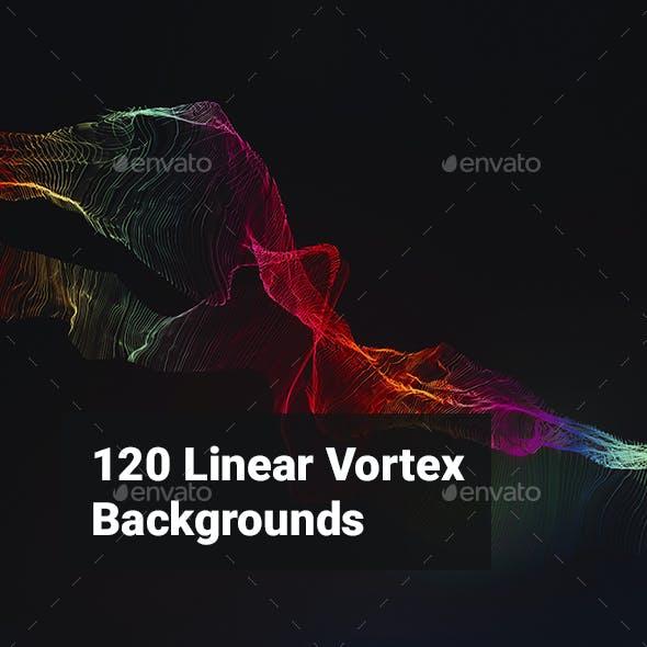 120 Linear Vortex Backgrounds