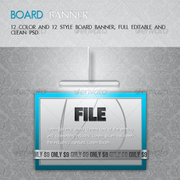 12 Perfect Board Banner