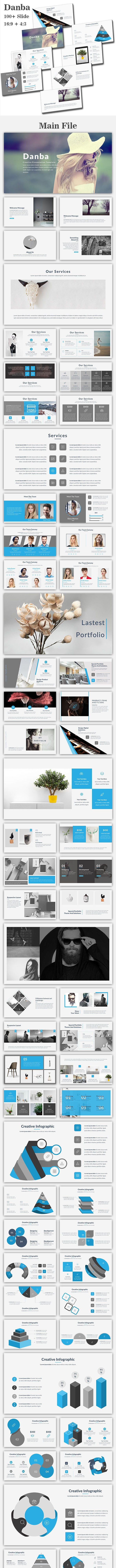 Danba Multipurpose Google Slide Template