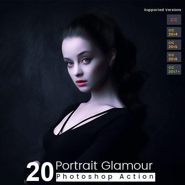 20 Portrait Glamour Action