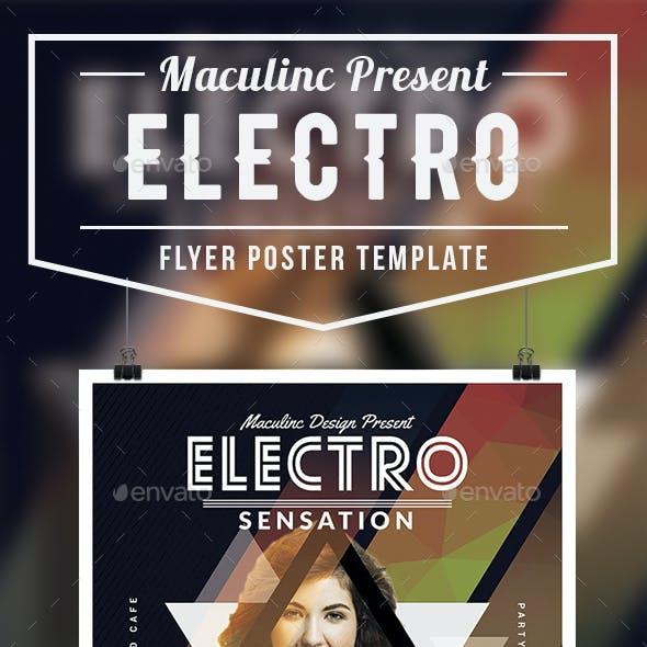 Electro Flyer/Poster Vol.6