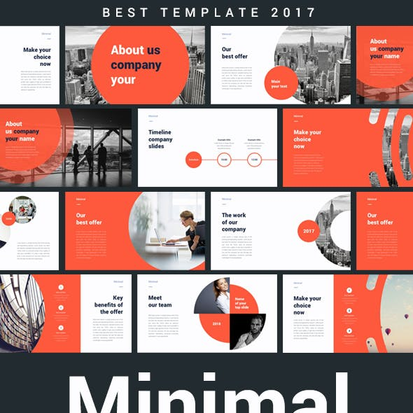Minimal Creative Powerpoint Template