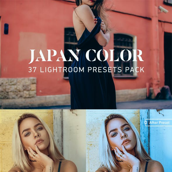 37 Japan Color Lightroom Presets